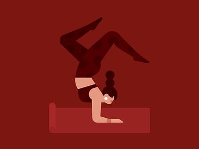 Scorpio scorpio yoga pose yoga horoscopes cosmopolitan editorial magazine fashion woman people character illustration
