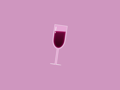 TIPSY - DAY 023 motion graphics illustration 2d loop after effects 2d animation animation motion design winery alcohal glass wine glass wine