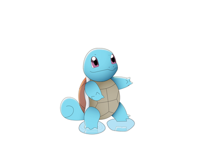 SQUIRTLE - DAY 025 character design motion graphics illustration 2d loop after effects 2d animation animation motion design squirtle pokemon