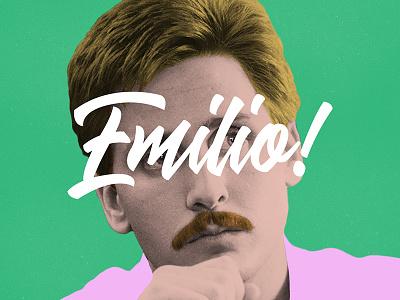 Emilio! album cover cover edm electronic dance hip hop rap album music estevez emilio