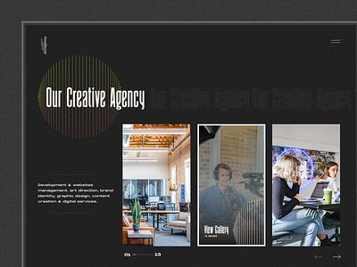 Design Agency creative vector clean fullscreen branding minimal award awwwards creative direction