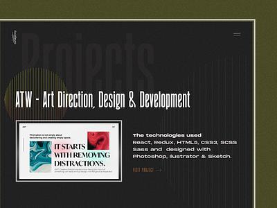 Design Agency - /Projects branding typography minimal design agency creative illustration fullscreen awwwards creative direction