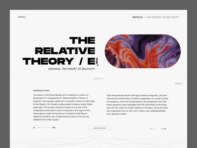 Interactive Book Concept ux ui fullscreen web illustration typogaphy typography art clean creative direction minimal