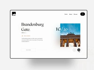 Explore Berlin.