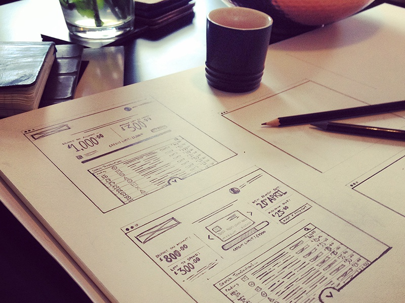 UX wireframe / layout concepts wireframe sketching user experience ux