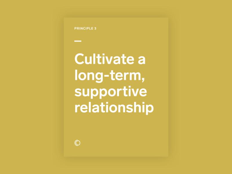 Design principle 3