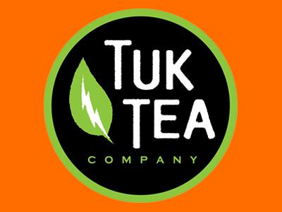 Tuk Tea Company Logo food truck new york ny ruocco leaf tea identity logo branding buffalo tuk tea company tuk tuk