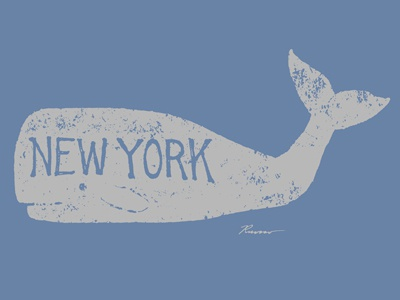 Antique Whale - New York
