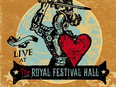 Grant Lee Buffalo - Live album cover preview design graphic design illustration album ruocco music cover live concert grant lee buffalo grant-lee phillips packaging london knight heart