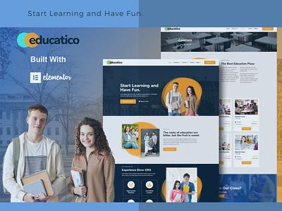 Educatico. branding designs designer webdesigner webdesign web ux website ui design