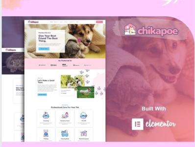 Chikapoe. branding designs designer webdesigner webdesign web ux website ui design