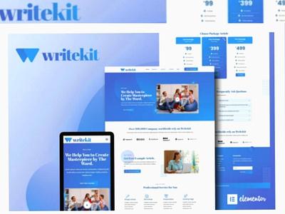 Writekit art designs designer webdesigner webdesign web ux website ui design