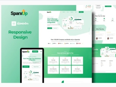 Sparxup branding designs designer webdesigner webdesign web ui ux website design