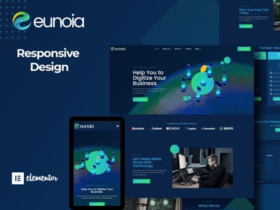 Euonia designs branding designer webdesigner webdesign web ux website ui design
