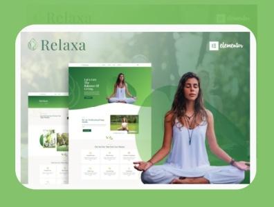 Relaxa branding designs designer webdesigner webdesign web ux website ui design