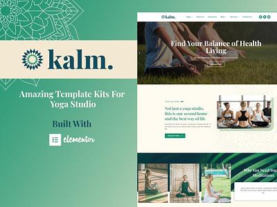 Kalm app designs designer webdesigner webdesign ux web website ui design