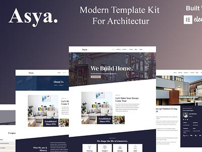 Asya app designer designs webdesigner webdesign web ux website design ui