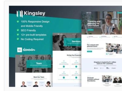Kingsley webdesigner webdesign web website ux ui design