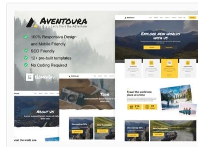 Aventoura webdesigner webdesign web ux website ui design
