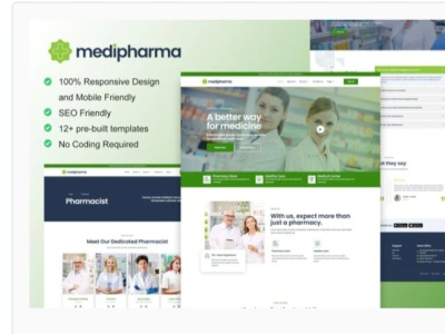 Medipharma webdesigner webdesign web ux website ui design