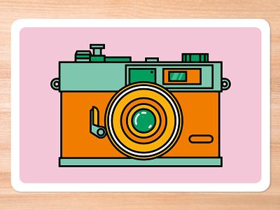Improv Cards - Camera graphic design design vector illustrator illustration