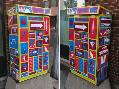 Traffic Box Wrap