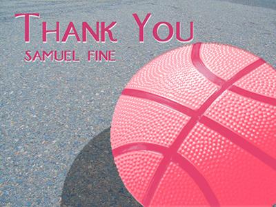 John Locke Dribbble Debut dribbble debut thank you photo sacramento pink
