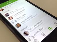 People Tab Ios App