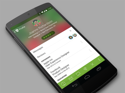 Hiring App Android hiring hr android profile candidate