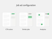 Job Ad Configuration