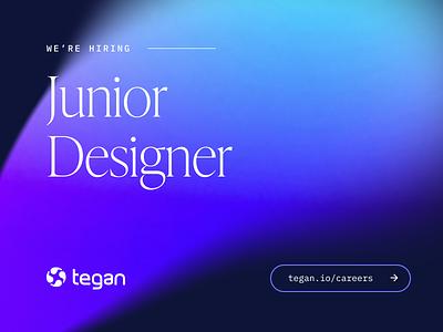 We're hiring! 🎉 ui designer ux designer designer app design agency ui logo illustration uidesign client work branding website web ux design