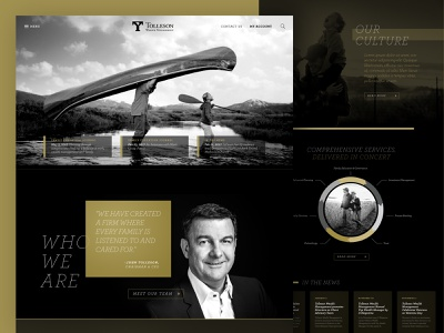 Tolleson Concepts illustration website web ux branding ui design