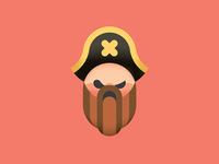 Pirate Weird Eyes