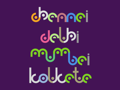 Curvy Typography