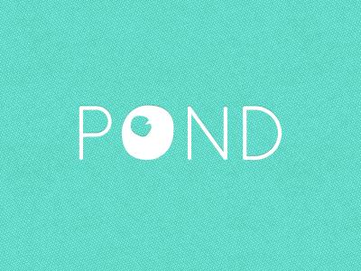 Personal Logo Concept pond personal logo portfolio idea quicksand