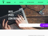 Chromatron Wifi Pixel Controller Website