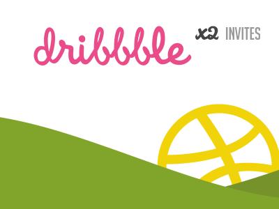 2 Dribbble Invites Giveaway! dribbble invites giveaway