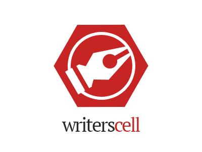 WritersCell Logo  logo branding