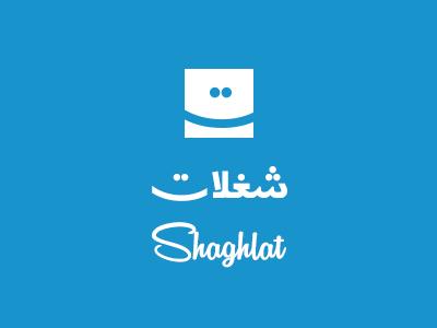 Shaghlat.com Logo shaghlat logo arabic typography