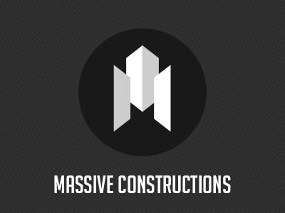 Massive Constructions Logo logo constructions creative
