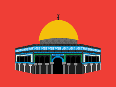 Dome Of The Rock dome of the rock aqsa quds palestine islam religion