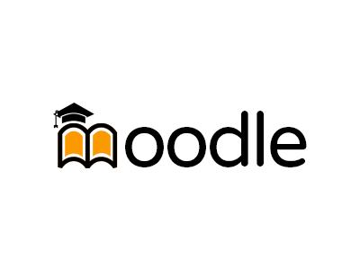 Moodle logo concept