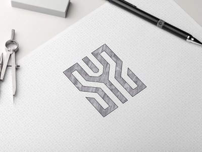 SY2 logo concept ambigram icon vector illustrator monogram logo logo graphic design illustration design branding