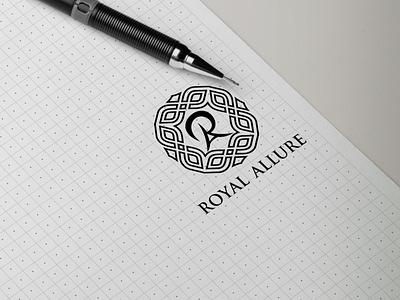 skecth logo toyal monogram logo forsale illustrator graphic design branding vector logo illustration icon design