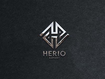 herio logo monogram logo forsale illustrator graphic design branding vector logo illustration icon design