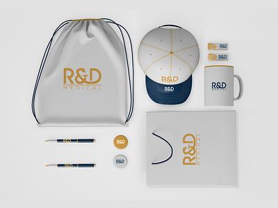 R&D BRAND monogram logo forsale illustrator graphic design branding vector logo illustration icon design