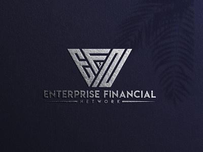 logo EFN monogram logo forsale illustrator graphic design branding vector logo illustration icon design