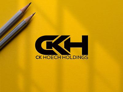 ckh logo monogram logo forsale illustrator graphic design branding vector logo illustration icon design