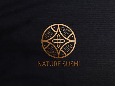 LOGO NATURE SUSHI motion graphics web design web style logo company new logo business card stationery mascot symbol banner logo design typography graphic design branding vector icon logo illustration design