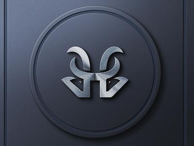 adu domba logo coorporation symbols brand company logo company motion graphics 3d vector typography graphic design illustration branding icon logo design